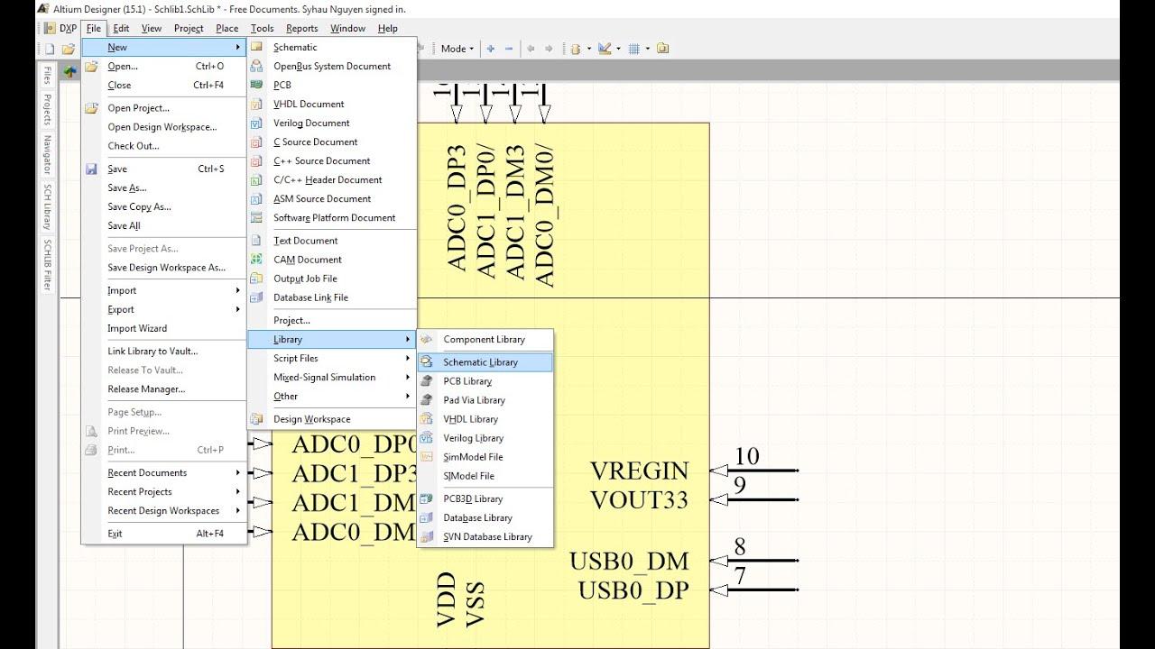 How to use Schematic symbol generartion tool in altium designer ...