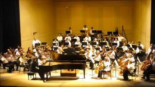 Ravel: Left hand piano concerto - Javier Villegas