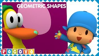 💠Learn SHAPES with Pocoyo [8 shapes] 💠| EDUCATIONAL VIDEOS for KIDS
