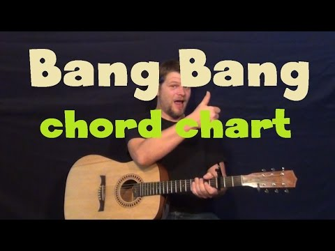 Bang Bang (Dispatch) Guitar Chord Chart Lesson