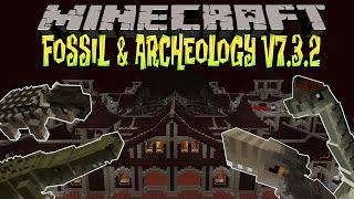 Minecraft fossils and archeology 1 7 10