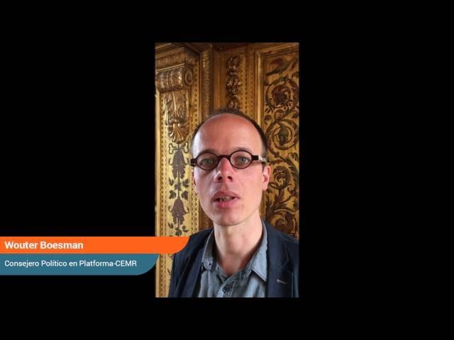 Un lugar en la mesa global - Wouter Boesman, Consejero Político de Platforma