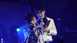 【飯拍HD】月彎彎 (合唱嘉賓:王晰) (周深空間2019 北京站 1月20日) Zhou Shen