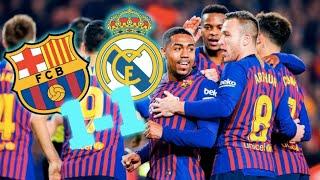 BARÇA 1-1 REAL MADRID | BARÇA LIVE | Warm up & Match Center