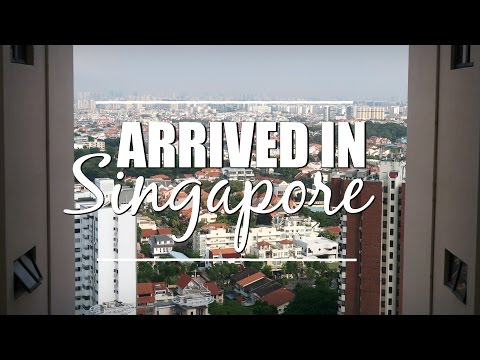 Singapore after 40 hours travel : Mum + son full time travel