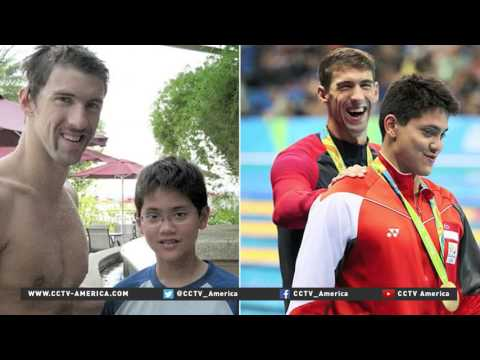 Joseph Schooling gold medal win inspires Singapore's youth