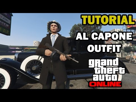 sc 1 st  YouTube & GTA V Online: Al Capone Outfit Tutorial ITA - YouTube