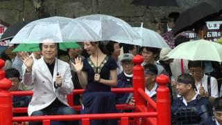 会津まつり 2012 会津藩公行列 NHK大河 八重の桜にキャスティングの国広...