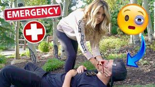 Madison breaks Kyler's NOSE