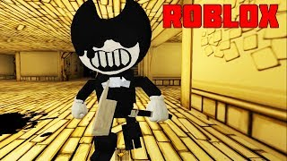 BENDY ATTACKED us/Roblox