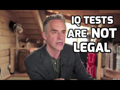 Jordan Peterson: IQ Testing Is AGAINST The LAW