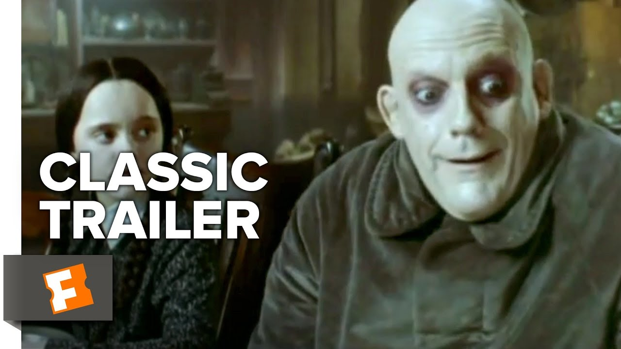 The Addams Family 1991 Trailer 1 Movieclips Classic Trailers Youtube