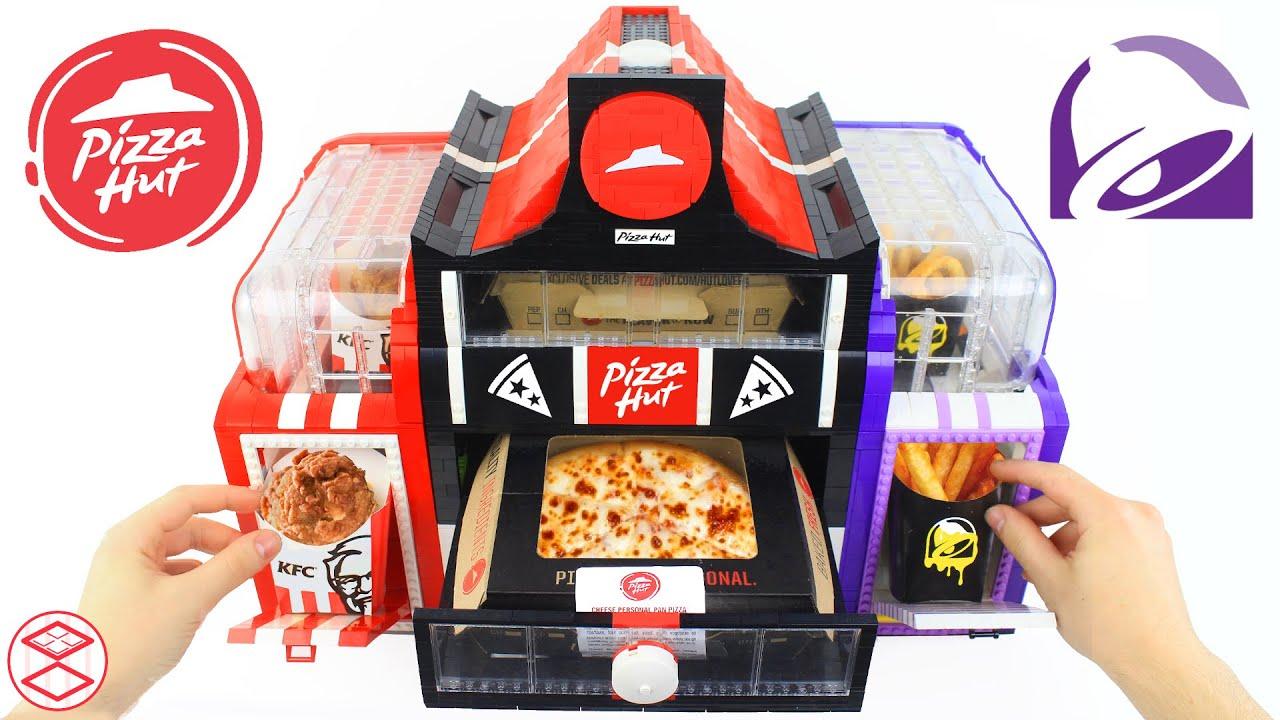 Pizza Hut, KFC and Taco Bell Custom LEGO Machine (3-in-1)