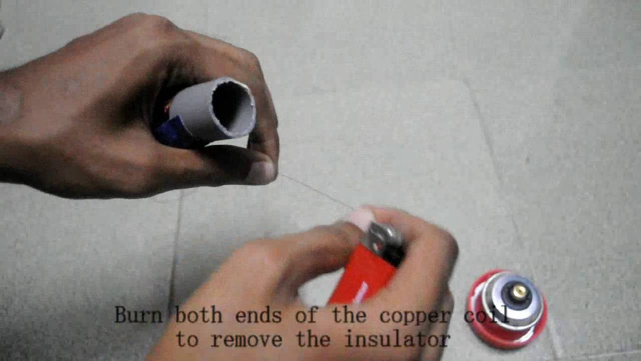 how to make a faraday s flashlight [ 1280 x 720 Pixel ]