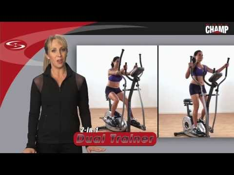 Body Champ 2-in-1 Dual Trainer [PATENTED] (1-min.)