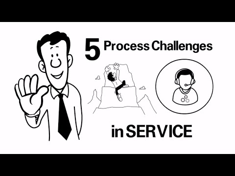 Lean Service - 5 Process Challenges