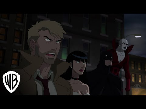 Batman vs. Shrouds in all-new Justice League Dark clip