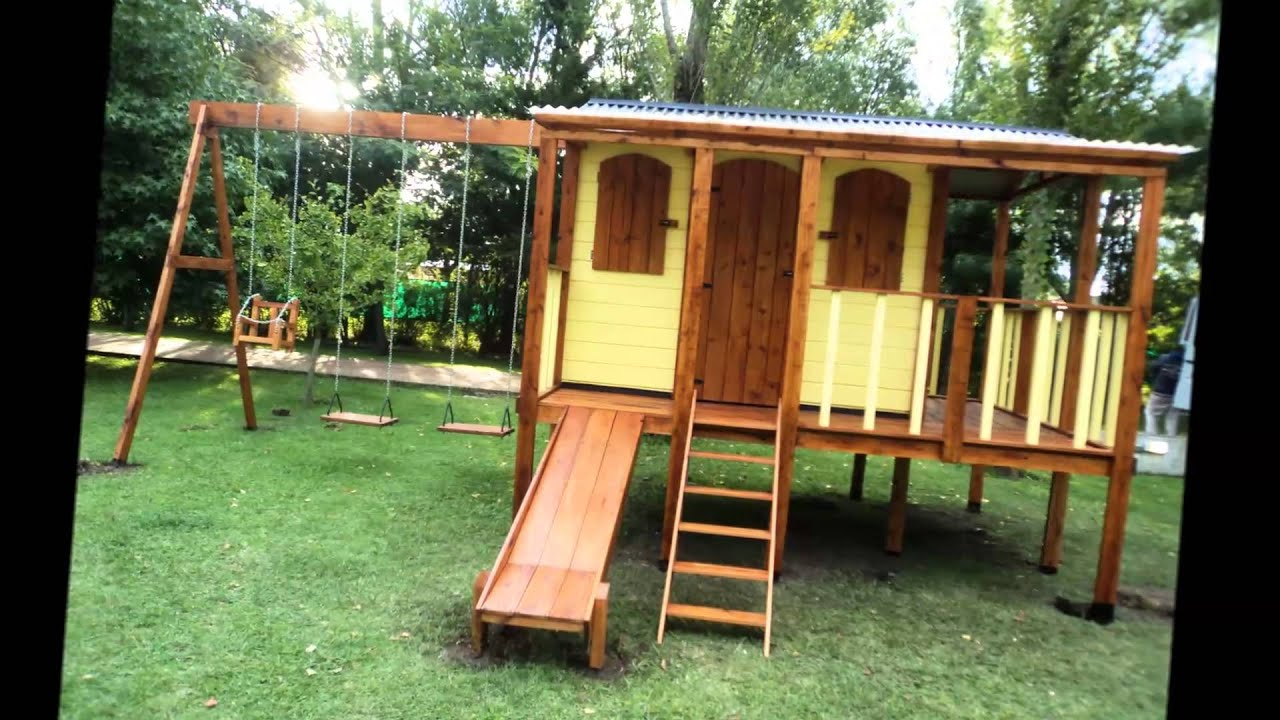 Incom decopark jueguitos infantiles en madera youtube - Casa madera infantil ...