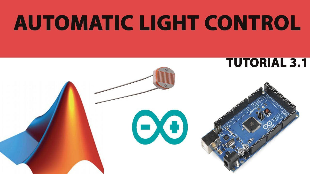 Automatic light control using arduino and matlab