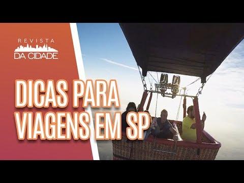 Dicas de Viagens Rápidas em São Paulo  - Revista da Cidade (11/07/18)