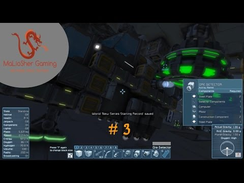 Space Engineers | Survival | EP 3 The Cursed Drill Ship