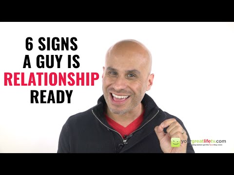 when is a guy ready for a relationship