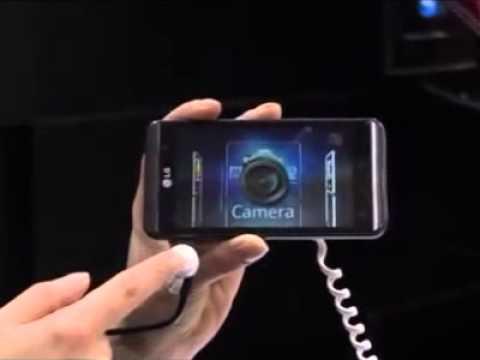 LG Optimus 3D P920 - Product Demo: Big Step Forward for 3D
