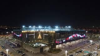 איצטדיון טרנר באר שבע - מעטפת לדים