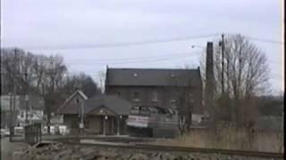 Amtrak Mystic, CT 1-2-89