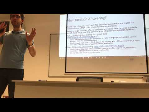 Bucharest Deep Learning - January 2017 - Intro to Deep Learning for Question Answering