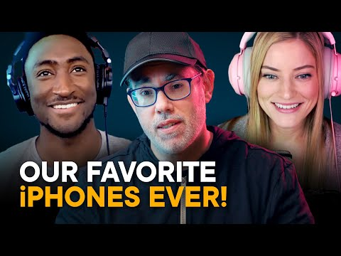 We Pick Our Favorite iPhones Ever! (Feat. MKBHD, iJustine, & More!)