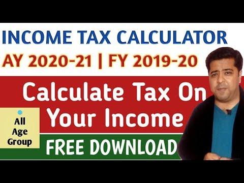 Download Tds Calculator Income Tax Calculator Ay 2019 2020