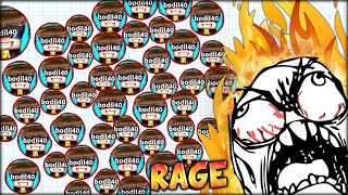 AGARIO RAGE MODE: ACTIVATED! SIMON BECAME MENTAL! (THE MOST ADDICTIVE GAME EVER - AGAR.IO #18)