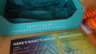 Another unboxing today with KnitCrate! I was lucky enough to get my hands on one of these monthly yarny subscription boxes this time for July. See what was ...