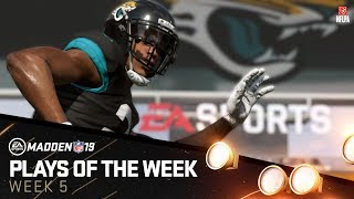 Madden 19 - Plays of the Week 5