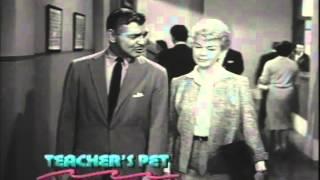 Teacher's Pet Trailer 1958