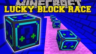 Minecraft: EVIL NIGHT CASTLE LUCKY BLOCK RACE - Lucky Block Mod - Modded Mini-Game