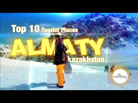 Top 10 Tourist Places Almaty | Kazakhstan - Things To Do In Almaty | Kazakhstan Tourism 🇰🇿