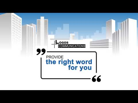 Logos Communications:  The Right Word For You