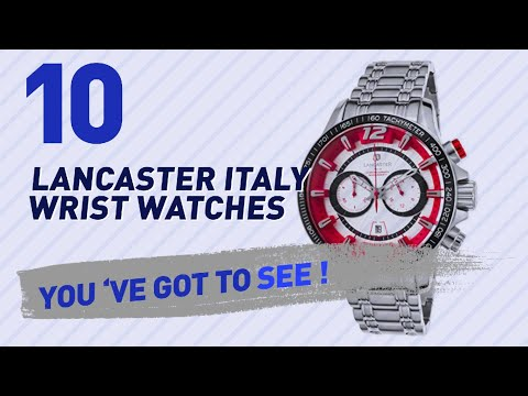 Lancaster Italy Wrist Watches For Men // New & Popular 2017