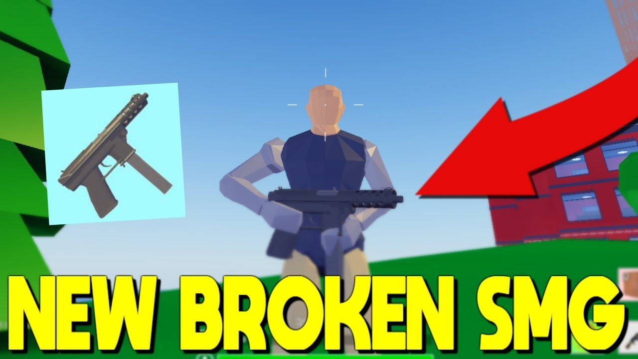 *NEW* Tactical SMG IS TOO OP In Strucid... (Roblox ...