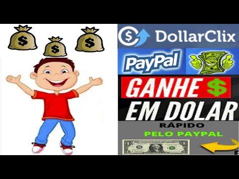 DollarClix || Fature no PayPal, Amazon, Bitcoin | Veja como ganhar na internet rápido | Home Office