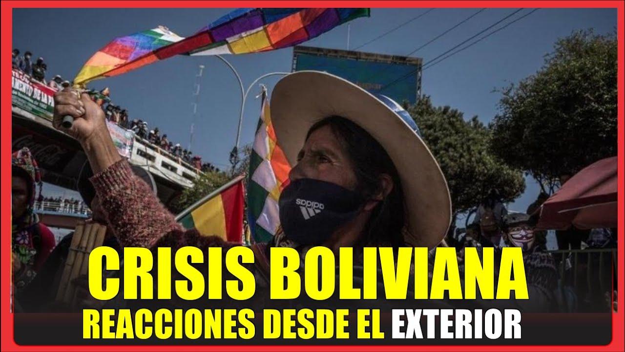 ¡ CRISIS EN BOLIVIA! Reporta la senadora María Oporto, reaccionan BOLIVIANOS desde EL EXTERIOR