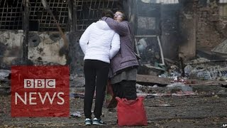 Ukraine election: Land of chaos & courage - BBC News