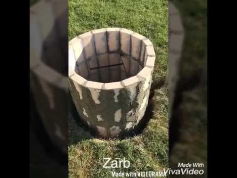Zarb / Tandoori Oven/ BBQ Oven fire Pit