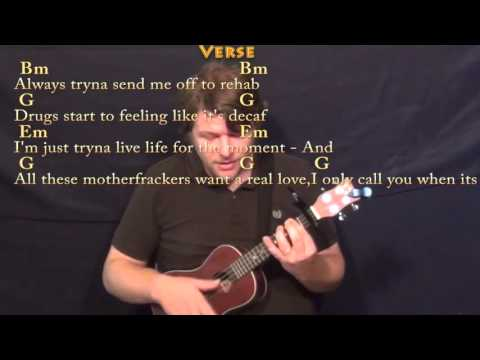 The Hills (The Weeknd) Ukulele Cover Lesson with Chords/Lyrics - Capo 1st