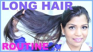 My Hair Care Routine For Shiny & Healthy Hair at home  | SuperPrincessjo