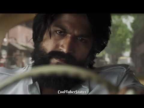 KGF Attitude Dialogue Hindi Rocking Star Yash 😎 WhatsApp Status Video KGF Gun Scene