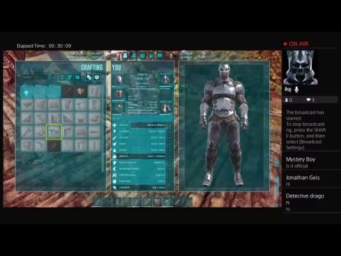 Ark Live : Building Wyvern Landing platform