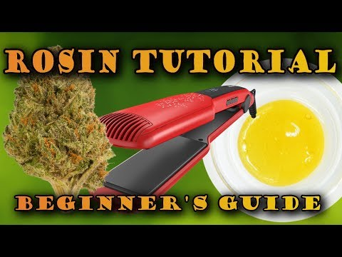MAKE DABS AT HOME! Easy Hair Straightener Rosin Tutorial thumbnail